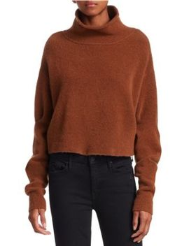 Stretch Wool Turtleneck Sweater by T By Alexander Wang
