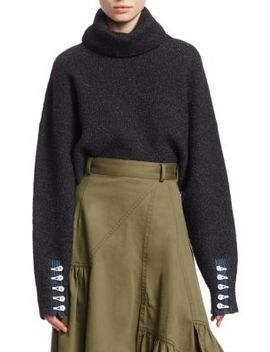 Folk Turtleneck Crop Sweater by 3.1 Phillip Lim