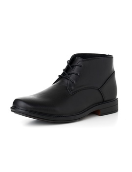 Alpine Swiss Mens Ankle Boots Dressy Casual Leather Lined Dress Shoes Lace Up Nw by Alpine Swiss