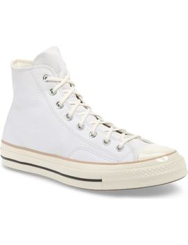 Chuck 70 Boot Leather High Top Sneaker by Converse