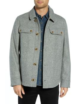 Capitol Hill Mélange Shirt Jacket by Pendleton
