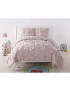 Laura Hart Kids Pleated Blush Twin Xl Comforter Set by Laura Hart Kids