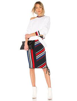 Tommy X Gigi Gigi Hadid Intarsia Skirt by Tommy Hilfiger
