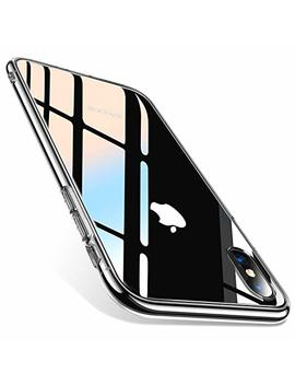 Torras Fantasy Series I Phone X Case 2017 (Only), Clear 9 H Tempered Glass Soft Silicone Tpu Bumper Protective Phone Cover Case Compatible With Apple I Phone X, Clear by Torras