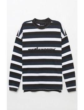 The Hundreds Park Stripe Long Sleeve T Shirt by Pacsun