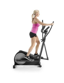 Gold's Gym Stride Trainer 380 Compact Elliptical Machine by Gold's Gym