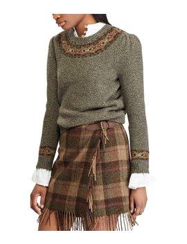 Fair Isle Wool Blend Sweater by Polo Ralph Lauren