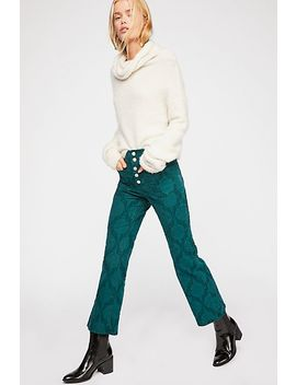Liv Crop Flare Jeans by Free People