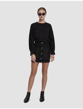 Kristin Denim Mini Skirt by Stelen