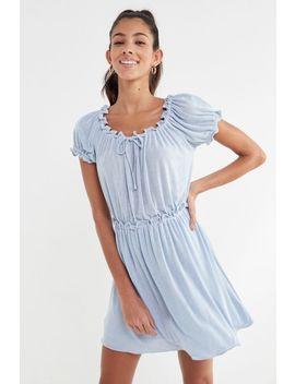 Anna Sui & Uo Ruffle Babydoll Dress by Anna Sui