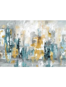 Ebern Designs 'city Views Ii' Painting Print On Wrapped Canvas & Reviews by Ebern Designs