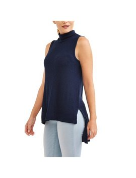 Women's Mockneck Side Split Tank by Thyme And Honey