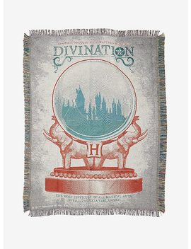 Harry Potter Divination Woven Tapestry Throw Blanket by Hot Topic