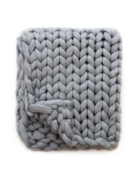 Merino Wool Throw Blanket by Lane And Mae