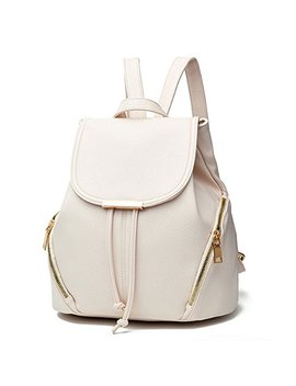 Aiseyi Women's Pu Leather Backpack Purse Casual Daypack School Bag For Girls by Aiseyi