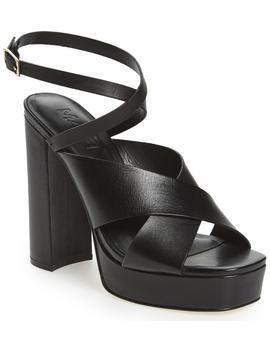 M4 D3 Priscilla Wraparound Platform Sandal by M4 D3 Footwear