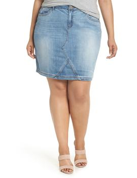 Denim A Line Skirt by Wit & Wisdom