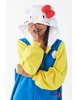 Kigurumi '70s Hello Kitty Halloween Costume by Urban Outfitters