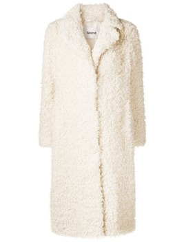Renee Furry Coat by Stand