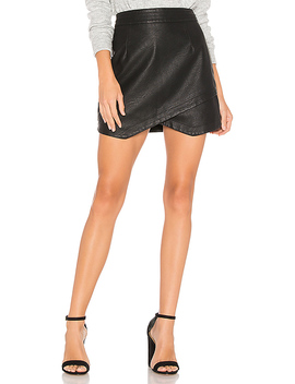 Angeline Faux Leather Skirt by Bb Dakota