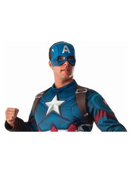 Men's Marvel Captain America Vacuform Costume Mask by Shop This Collection