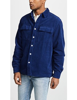 Magnus Heavy Cord Long Sleeve Shirt by Saturdays Nyc