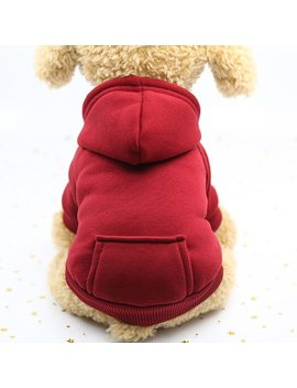 Autumn Winter Pet Dog Clothes Cotton Puppy Dog Clothes For Dogs Hoodie Xs 2 Xl Pets Coats Pets Products Ropa Perro French Bulldog by Pet Amigoo