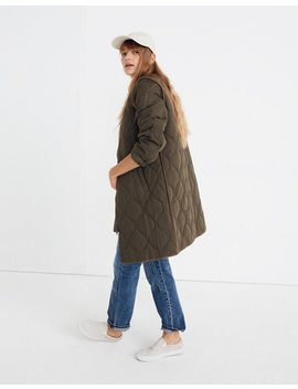 Quilted Military Coat by Madewell