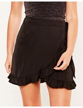 Ruffle Wrap Skirt by Glassons