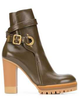 Platform Ankle Boots by See By Chloé