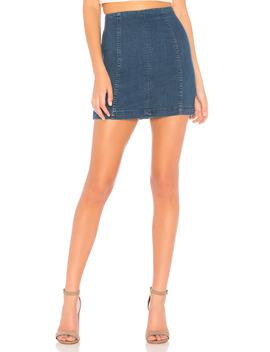 Denim Modern Femme Skirt by Free People