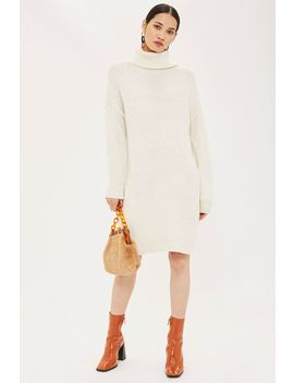 Ribbed Roll Neck Jumper by Topshop