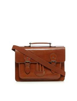 Rjr.John Rocha   Designer Tan Leather Satchel Bag by Rjr.John Rocha