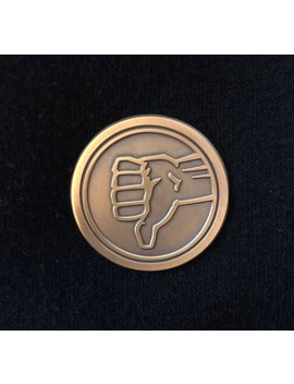 The Bad Place Senior Staff Pin Badge   Inspired By Nbc's The Good Place   Great For Portal Travel! by Etsy