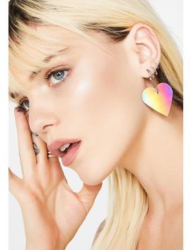 That Kinda Love Rainbow Earrings by Ana Accessories