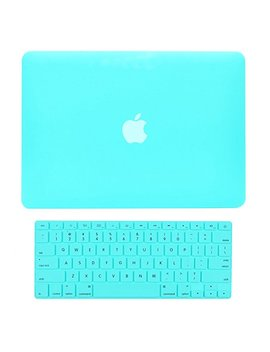 """Top Case   2 In 1 Rubberized Hard Case And Keyboard Cover Compatible With Apple Mac Book Pro 13.3"""" (13"""" Diagonally) With Retina Display (Old. Gen. 2012 2015) Model: A1425 / A1502   Rose Quartz by Top Case"""