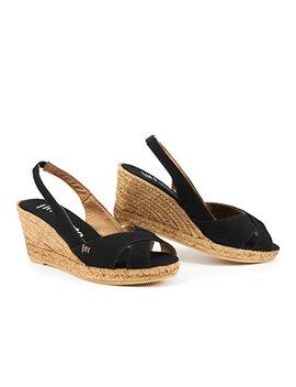 "Viscata Calella 2.5"" Wedge, Sling Back, Open Toe, Espadrilles Heel Made In Spain by Viscata+Barcelona"