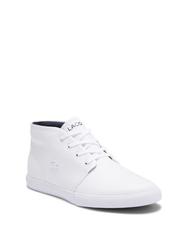 Asparta 318 1 Mid Top Sneaker by Lacoste