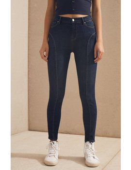 Pac Sun Elizabeth Blue Curve Jeans by Pacsun
