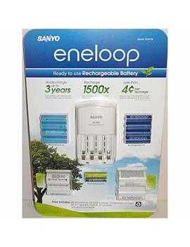 "Sanyo Eneloop Ni Mh Charger (With 8 ""Aa"" And 2 ""Aaa"" Batteries, Plus 2 ""C"" And 2 ""D"" Adpaters) by Eneloop"