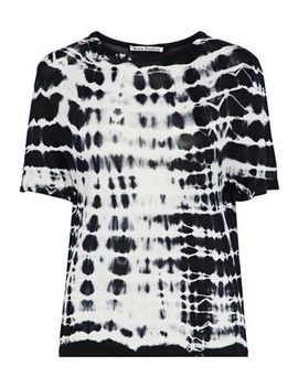 Tia Tie Dyed Jersey T Shirt by Acne Studios
