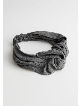 Herringbone Knot Headband by & Other Stories