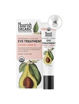 Nourish Organic Renewing Avocado & Argan Eye Cream 0.5 Oz by Nourish Organic