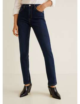 Anna Straight Fit Jeans by Mango