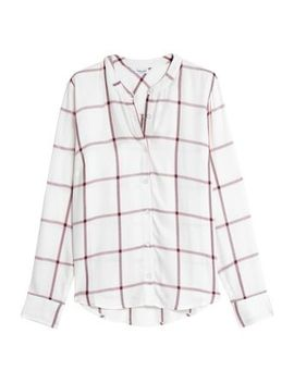 Checked Flannel Shirt by Splendid