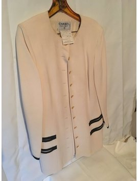 Vintage Chanel Boutique Skirt Suit by Etsy