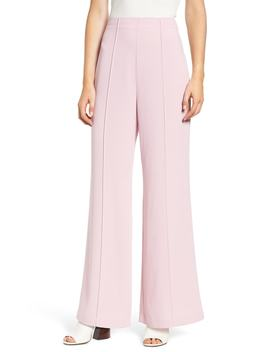 High Waist Pintuck Pants by Leith