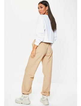 Sand 80s Joggers by Missguided