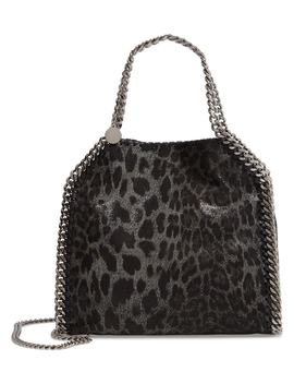 Mini Falabella Leopard Print Faux Leather Tote by Stella Mccartney