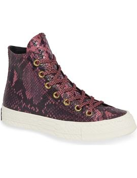 Chuck Taylor® All Star® Ct 70 Reptile High Top Sneaker by Converse